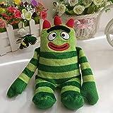 20cm Brobee Yo Gabba Stuffed Animals Nano Dolls Plush Toys Soft Kdis Baby Toys 20cm Green