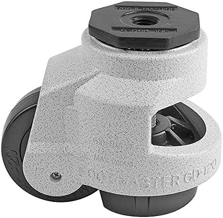 Foot Master OFFer Leveling M16 Nashville-Davidson Mall Bolt 75X30mm Wheel Hole Caster Nylon