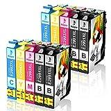 Bigger Lot de 10 Cartouches d'encre compatibles pour Epson 29XL pour Expression Home...