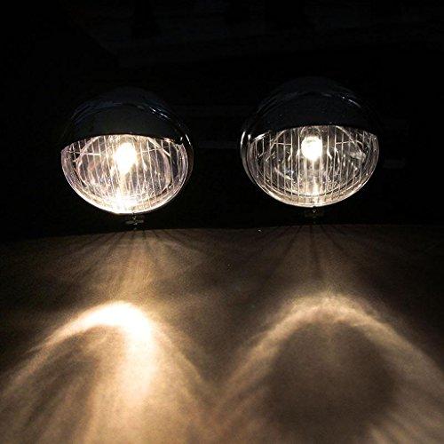 Sharplace Lumière Brouillard de Moto 4\