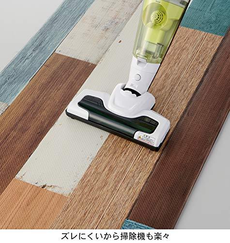 ベストコキッチンマットミックスウッドライト45×120cmさらっと拭けるぷにぷに触感ND-9853
