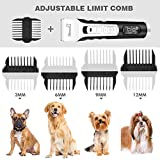 Zoom IMG-2 pecute tosatrice professionale per cani