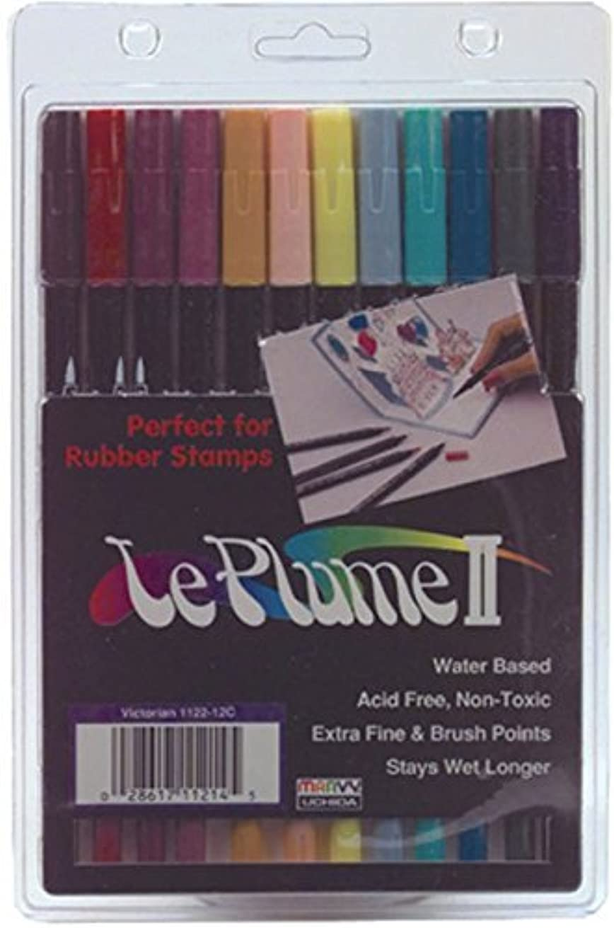 Leplume Ii Markers (Victorian Colors) - 12 per Package