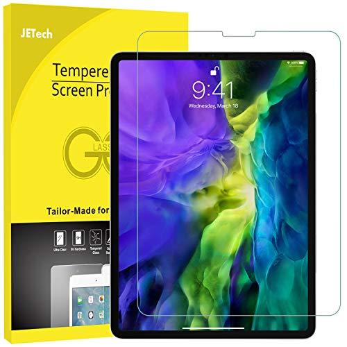 JETech 0902A-SP-IPAD-PRO-GLASSX2 - Pellicola Protettiva iPad Pro 12.9 Pollici (Modello 2015 e 2017), Vetro Temperato, Pacco da 2