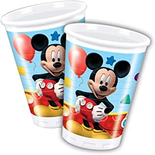 Unique Party Amscan Playful Mickey Plastic Cups Party Accessory