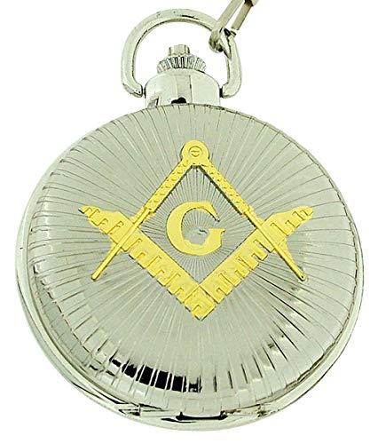 Boxx m5099.08–Orologio da tasca, cinturino in metallo colore argento
