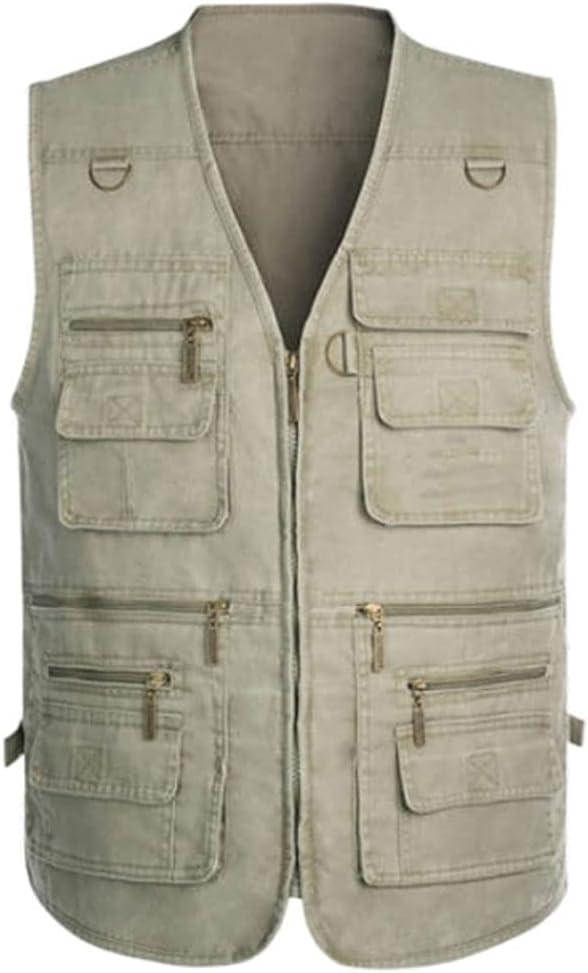 Fishing Popular brand Vests for shipfree Men Vest S Outerwear Multi Pocket