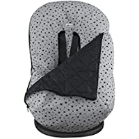 JANABEBE Funda + Saco para silla de coche grupo 0 Black star