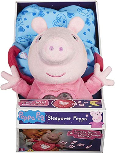 Peppa Pig - Peluche Fiesta de Pijamas con saco