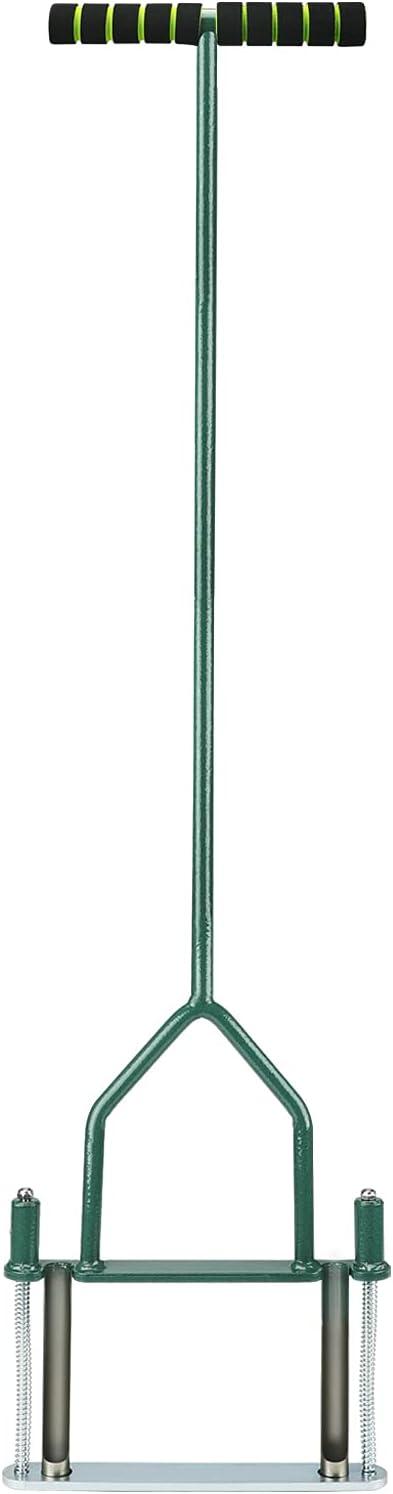 Opmeiro Lawn Super sale period limited Coring Aerator Yard Tool Semi-Open Sl Virginia Beach Mall with