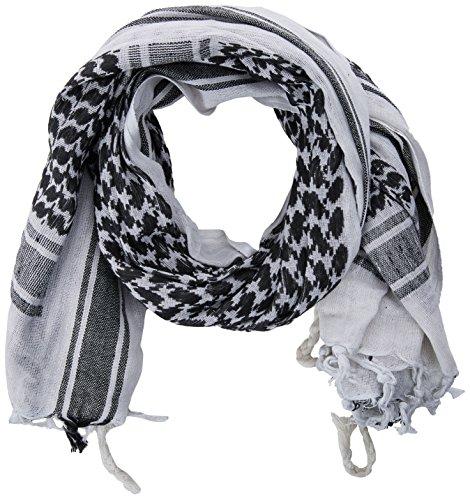 Unbekannt Shemag/Palästinenser-Halstuch weiss/schwarz