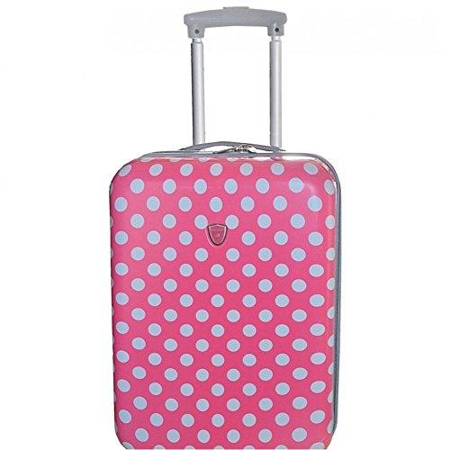 Valigia cabina Madisson 50 cm da donna, rosa (Multicolore) - mp-5158_156