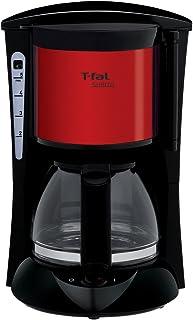 ティファール コーヒーメーカー スビト ペーパーレスフィルター メタリックルビーレッド CM151GJP
