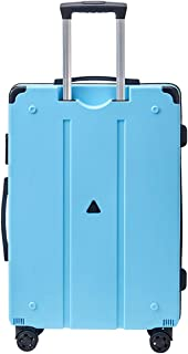 "SRY-Luggage ABS+PC Material Trolley Case, Adult Luggage Case, Roller Walking Scroll Box, 20"" 24"" Inches Durable Carry on Luggage (Color : Blue)"