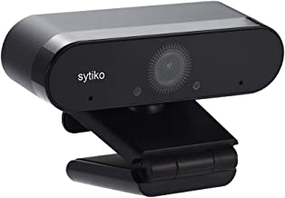 Sytiko HD Webcam, 1080p Live Streaming Camera with Stereo Microphone, Desktop or Laptop USB2.0 Webcam for Widescreen Video...