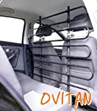 OVITAN Hundegitter XL fürs Auto 10 Streben universal zur Befestigung an den Kopfstützen der Vordersitze – für alle Automarken geeignet – Modell: V10XL - 6