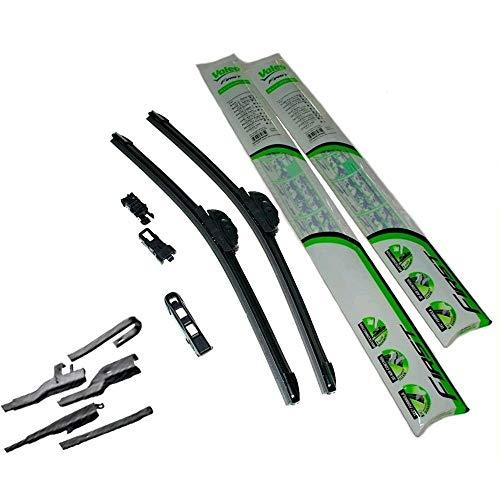 Set di 2 spazzole VALEO tergicristalli dim. 650/400 mm