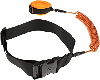 Baosity Toddler Kids Safety Walking Harness Reins Belt Anti Lost Strap Link Leash Rope - Orange, 2.5 Meters