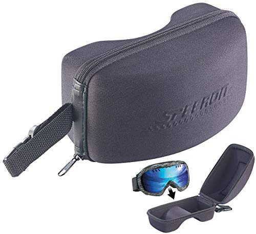 Speeron Brillenetui: Brillen-Etui für Ski- und Snowboard-Brille, 20 x 11,5 x 10,5 cm, Eva (Skibrillen Etui)