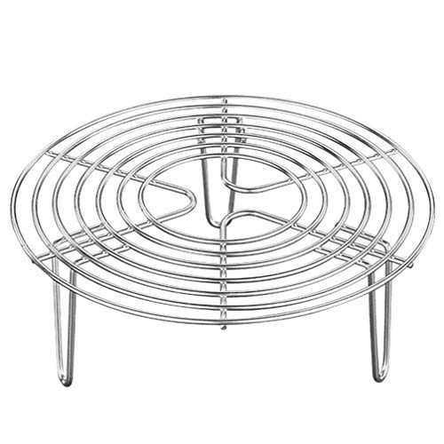 Cabilock Round Cooking Rack Stainless Steel Steamer Rack Grilling Rack Canning Rack Cooling Rack for Baking Canning Cooking