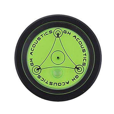H HILABEE Aluminium Case Spirit Bubble Level for Tripod,Phonograph,Turntable - black, as described
