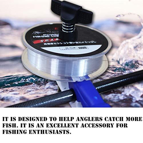 NA 2 Pack Mini Fishing Line Winder Spooler Universal Reel Winder Fish Tool Portable Fishing Line Winding Spool for Various Size Spool