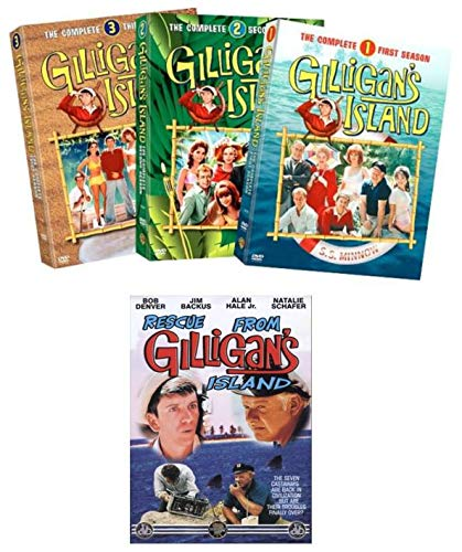 Ultimate Gilligan's Island DVD Collection: Gilligan's Island - The Complete Series (Season 1, 2, & 3) / Rescue From Gilligan's Island (Movie)