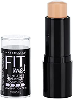 Maybelline New York Fit Me Shine-Free + Balance Stick Foundation, Classic Ivory, 0.32 oz.