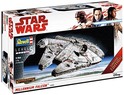 Revell Maqueta de, Star Wars 1: 144–Millennium Falcon, Niveles 5, orgin Algas...