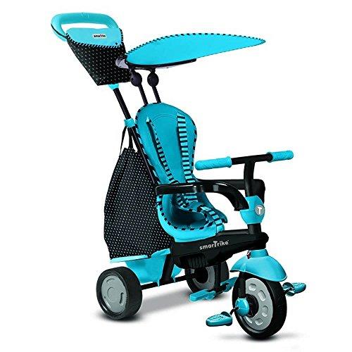 smarTrike Glow blau - Glow Touch Steering 4-in-1 Dreirad