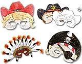 6 colorea tus propias máscaras manualidades para manualidades de niños   No lío manualidades para niños