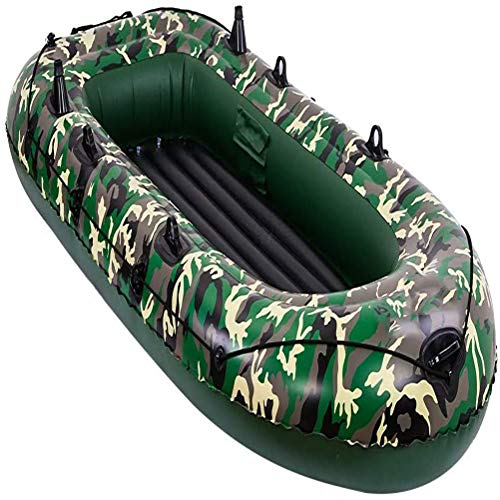 inflatable fishing boats Inflatable Fishing Boats for Adults 2/3/4 Person, Inflatable Boat for Pool with Oars, Inflatable Rafts Boats, Fishing Dinghy