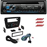 CACHÉ KIT401 Bundle w/Single Din Car Stereo Bluetooth CD Receiver for 2000-2007 Ford Taurus w/Smart Sync, Pandora Control, Spotify, Front USB, AUX Input w/in Dash Installation Kit (3item)
