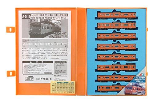 N gauge A0411 103 series West Japan renewal car Osaka loop line / 8 Orange (japan import)