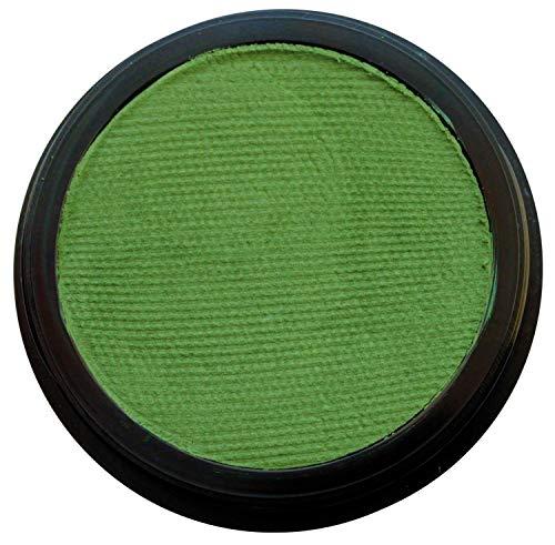 Eulenspiegel 184790 - Profi-Aqua Schminke in der Farbe Moosgrün, 20 ml