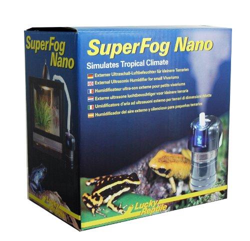 Lucky Reptile SN-1 Super Fog Nano, externe Luftbefeuchter für Kleinterrarien
