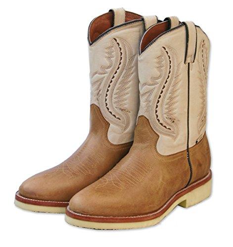 Stars & Stripes Western laarzen WB-16 - Westernwear-Shop Edition - met gratis laarzen cowboylaarzen of cowboy boots & biklaarzen Western laarzen voor dames en heren bruin