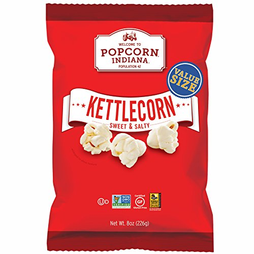 Great Deal! Popcorn Indiana Popcorn, Kettlecorn Sweet & Salty, 8 Ounce Bag (Pack of 6)