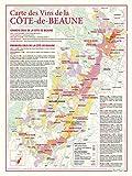 Carte des vins de La Côte-de-Beaune