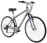 Diamondback Bicycles Kalamar Complete Hybrid Bike, Silver, 17'/Medium