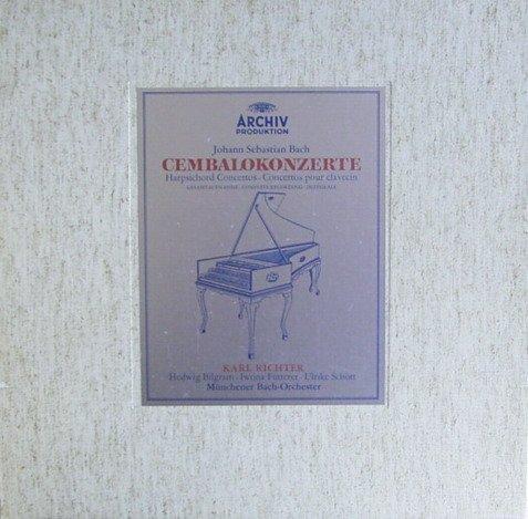 J. S. Bach: Cembalokonzerte (Gesamtaufnahme) [Vinyl Schallplatte] [5 LP Box-Set]