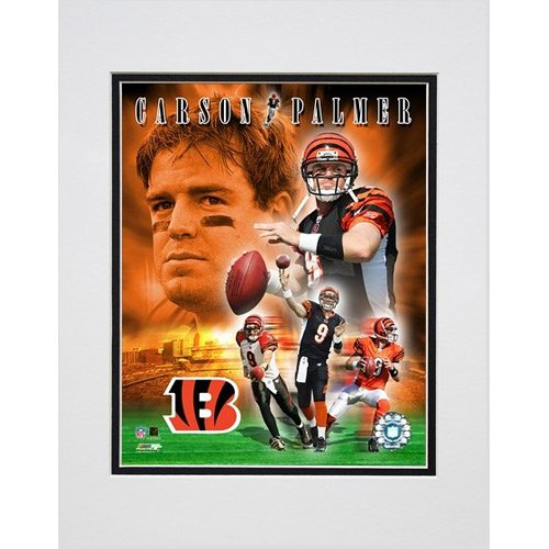 Photo File Cincinnati Bengals Carson Palmer 2005 Portrait Matted Photo