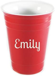 Best personalized ceramic red solo cup Reviews