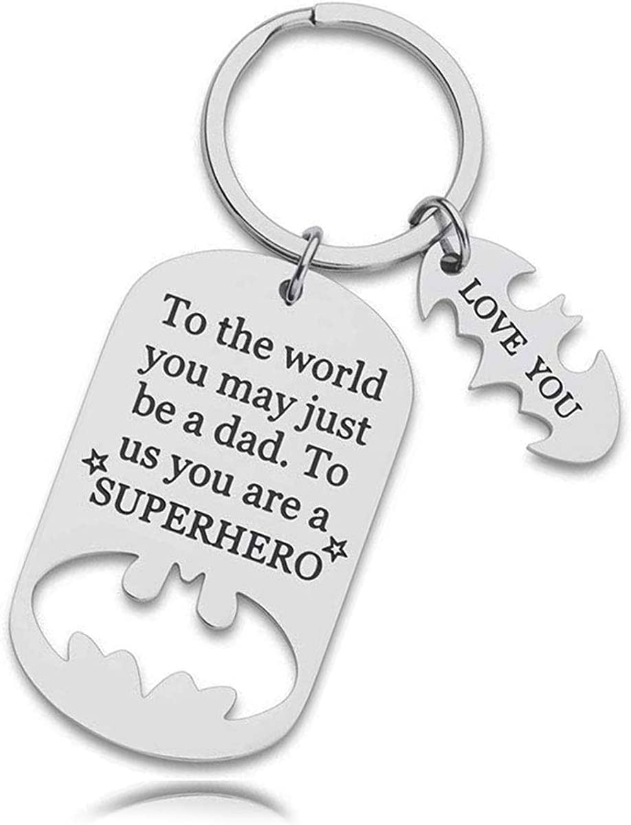Limited price Father's Day Gifts for safety D Keychain Birthday Dad