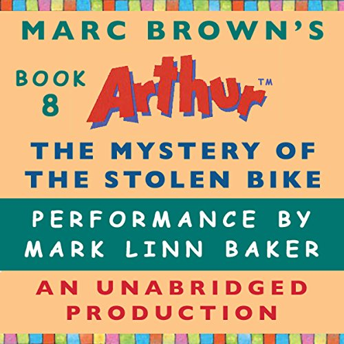 The Mystery of the Stolen Bike audiobook cover art
