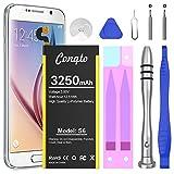 Galaxy S6 Battery Replacement Kit, 3250mAh Conqto...