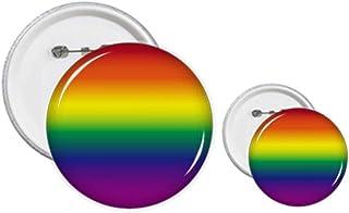 Pin's arc-en-ciel LGBT avec dégradé de couleurs
