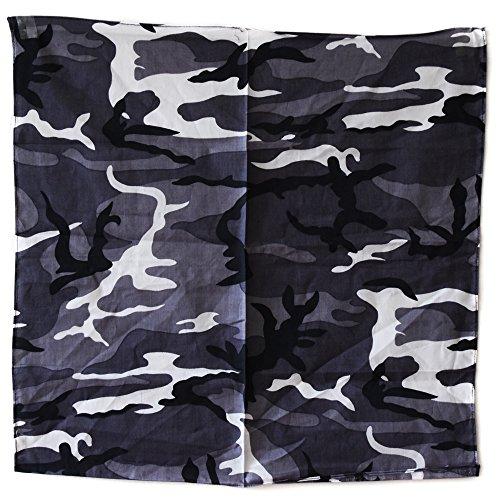 Bandana camouflage camo urban armée us usa paintball airsoft chasse peche