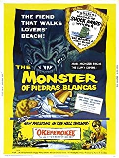 Monster Of Piedras Blancas Double Feature Movie Poster 24x36
