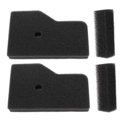 AISEN Pack of 2 Air Outer Filters for 17211-Z07-000 17218-Z07-000 Honda EB2000 EB2000i EU2000 EU2000i